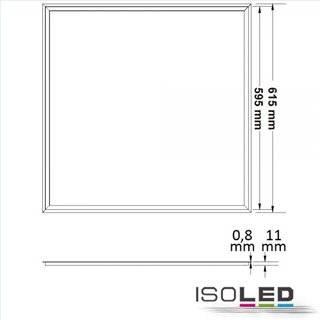 LED Panel Frame 620, 40W, warmweiß, 1-10V dimmbar