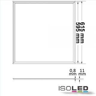 LED Panel Frame 620, 40W, neutralweiß