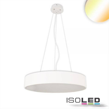 LED Hängeleuchte, DM 100cm, weiß, 160W, ColorSwitch 3000|3500|4000K, dimmbar