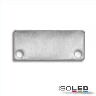 Endkappe für Profil IL-ALU20, Aufbau, Alu eloxiert