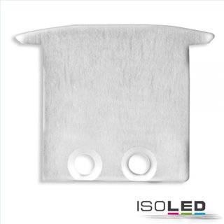 Endkappe für Profil IL-ALU20, Einbau, Alu eloxiert