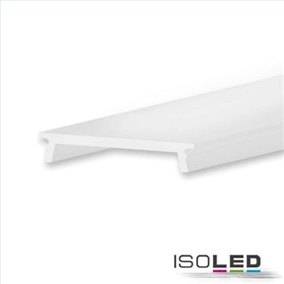 Abdeckung für Einbauprofil IL-ALU20, opal satiniert, 600cm (nicht für Aufbauprofil)