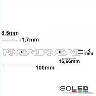 LED CRI930 Flexband Curve, 24V 12W, IP20 warmweiß, für Winkel und Ecken