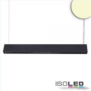LED Hängeleuchte Raster Up+Down, 15+32W, 8,5x128cm, schwarz, UGR6, 3000K, dimmbar