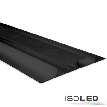 LED Trockenbauleuchte Planar, schwarz eloxiert RAL 9005 200cm