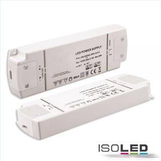 LED Flexband-Trafo 12V/DC, 0-50W, dimmbar (Spannungssenke), SELV