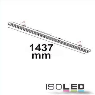 FastFix LED Linearsystem S Modul 1,5m 25-75W, 4000K, 25° rechts, 1-10V dimmbar
