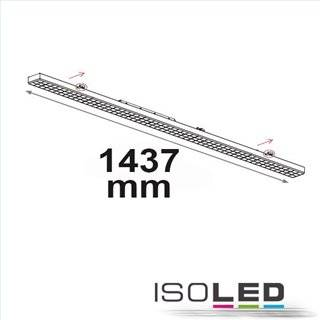FastFix LED Linearsystem S Modul 1,5m 25-75W, 4000K, 25° links/25° rechts, 1-10V dimmbar
