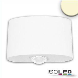LED Wandleuchte Up&Down 2*2W CREE, IP54, sandweiß, warmweiß