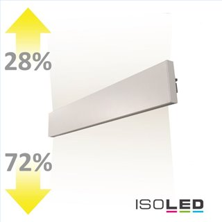 LED Wandleuchte Linear Up+Down 600 25W, IP40, weiß, warmweiß