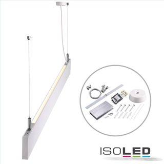 LED Hängeleuchte Linear Up+Down 1200, 40W, prismatisch, linear-verbindbar, weiß, warmweiß