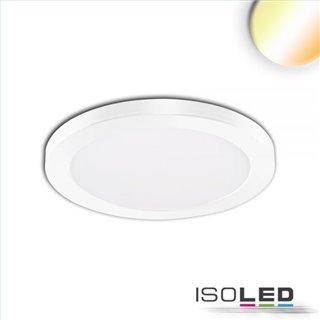 LED Aufbau/Einbauleuchte Slim Flex, 6W, weiß, ColorSwitch 3000K|3500K|4000K