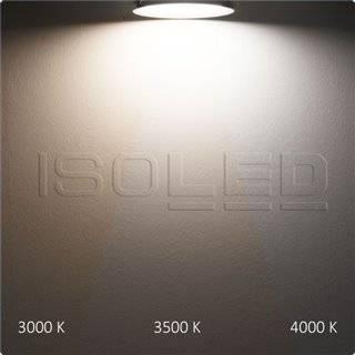 LED Aufbau/Einbauleuchte Slim Flex, 18W, schwarz, ColorSwitch 3000K|3500K|4000K