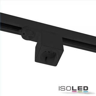 3-Phasen Adapter mit Schutzkontaktstecker, schwarz, inkl. 6A Sicherung