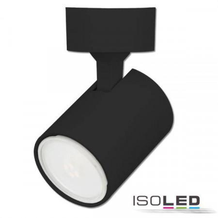 Wand- und Deckenleuchte GU10 Single, IP20, schwarz matt, exkl. Leuchtmittel
