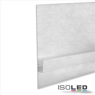 LED Trockenbauprofil Schattenfuge 80, weiß RAL 9010 200cm