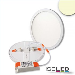 LED Downlight Flex 15W, UGR19, 120°, Lochausschnitt 50-160mm, warmweiß, dimmbar