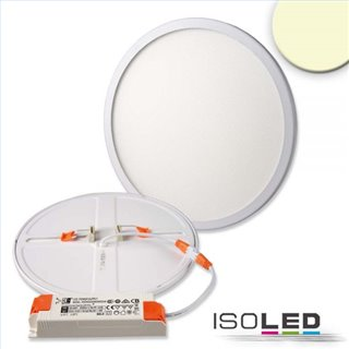LED Downlight Flex 23W, UGR19, 120°, Lochausschnitt 50-210mm, warmweiß, dimmbar
