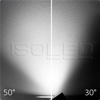 3-PH Schienen-Strahler fokussierbar, 35W, 30°-50°, weiß matt, 4000K, CRI92