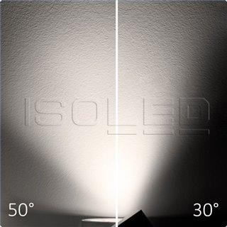 3-PH Schienen-Strahler fokussierbar, 35W, 30°-50°, weiß matt, 3500K, CRI92
