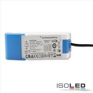 LED Einbaustrahler Sys-68, 10W, IP65, warmweiß, Push/Dali-dimmbar