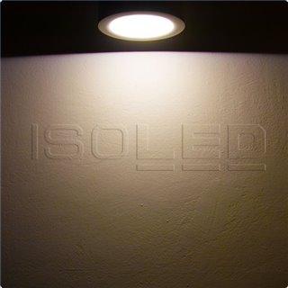 LED Aufbauleuchte LUNA 8W, weiß, indirektes Licht, warmweiß, dimmbar