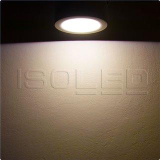 LED Aufbauleuchte LUNA 12W, weiß, indirektes Licht, warmweiß, dimmbar