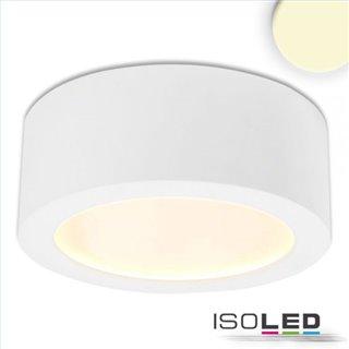 LED Aufbauleuchte LUNA 18W, weiß, indirektes Licht, warmweiß, dimmbar