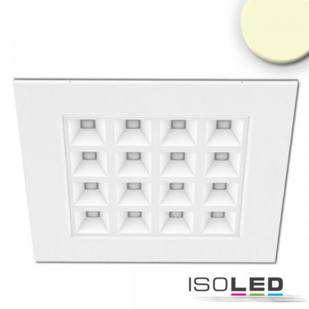 LED Panel UGR16 Line 625, 36W, Rahmen weiß, warmweiß, dimmbar