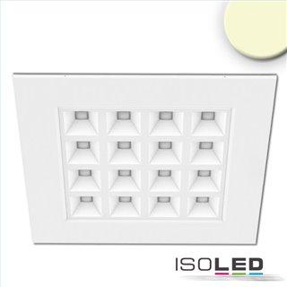 LED Panel UGR16 Line 625, 36W, Rahmen weiß, warmweiß, KNX dimmbar