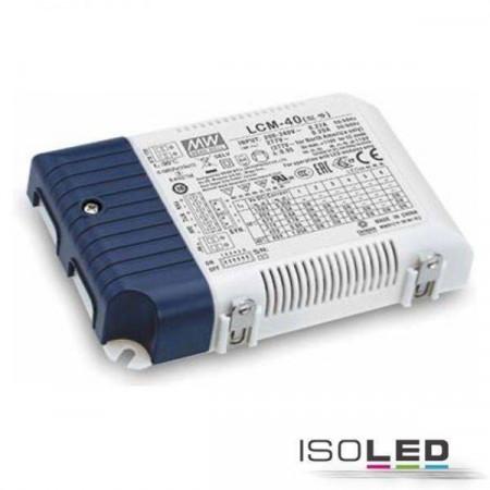 LED Konstantstrom Trafo MW LCM-40KN 350/500/600/700/900/1050mA, KNX dimmbar, SELV