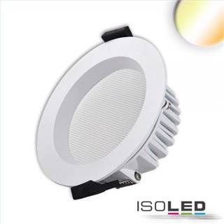 LED Downlight UGR19, 13W, rund, CRI90, Colorswitch 3000K|3500K|4000K, dimmbar