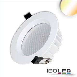 LED Downlight UGR19, 18W, rund, CRI90, Colorswitch 3000K|3500K|4000K, dimmbar