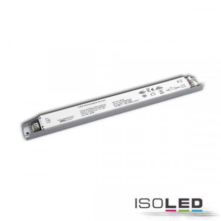 LED PWM-Trafo 24V/DC, 0-100W, slim, Push/Dali dimmbar
