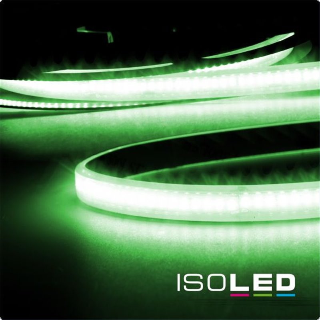 LED CRI9G Linear 48V-Flexband, 8W, IP68, grün, 30 Meter