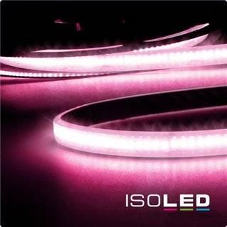 LED CRI9P Linear 48V-Flexband, 8W, IP68, pink, 30 Meter