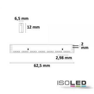 LED NEON-RGB Flexband, 24V, 14,4W, IP66