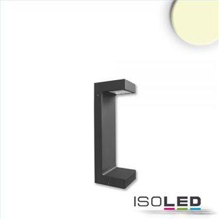 LED Wegeleuchte Poller-1, 30cm, 7W, sandschwarz, warmweiß