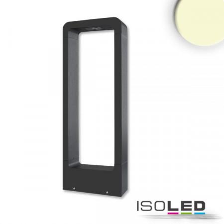 LED Wegeleuchte Poller-2, 60cm, 9W, sandschwarz, warmweiß