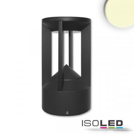 LED Leuchte Poller-4, 9W, sandschwarz, warmweiß