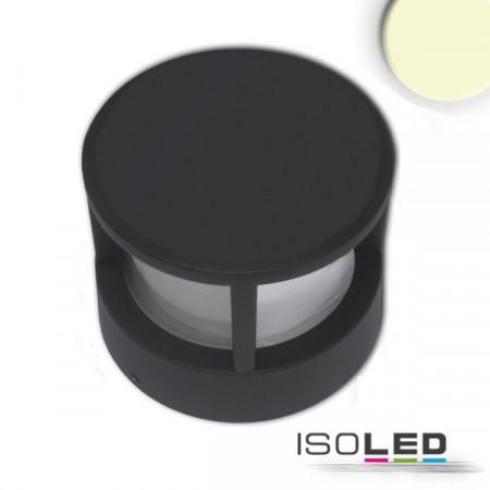LED Leuchte Poller-5, 6W, sandschwarz, warmweiß