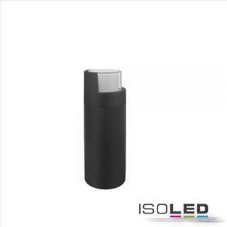 LED Wegeleuchte Poller-6, 30cm, 6W, sandschwarz, warmweiß