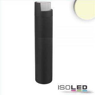 LED Wegeleuchte Poller-6, 70cm, 6W, sandschwarz, warmweiß