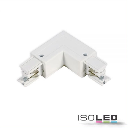 3-Phasen S1 L-Verbinder N-Leiter außen, Schutzleiter innen, weiß