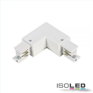 3-Phasen S1 L-Verbinder N-Leiter innen, Schutzleiter außen, weiß