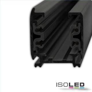 3-Phasen S1 Stromschiene, 2m, schwarz