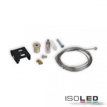 3-Phasen S1 Seilabhängung 10-200cm schwarz
