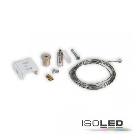 3-Phasen S1 Seilabhängung 10-200cm weiß