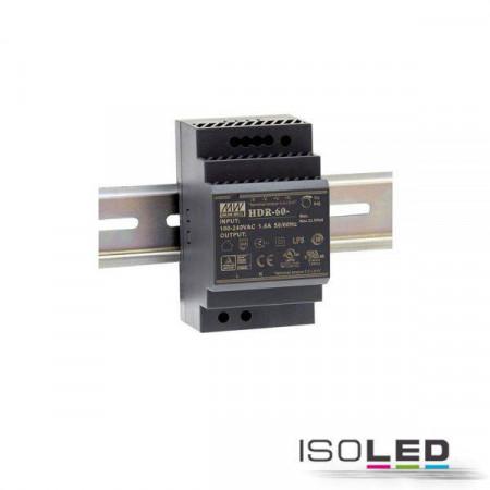 LED Hutschienen-Trafo MW HDR-100-12, 12~13.8V/DC, 0-100W