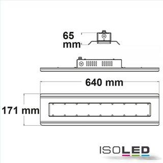 LED Hallenleuchte Linear SK 100W, IP65, weiß, neutralweiß, 90°, 1-10V dimmbar